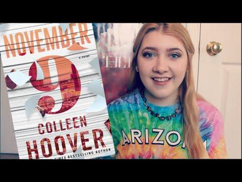 November 9 By Colleen Hoover | BOOKTALK
