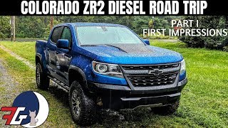 Colorado ZR2 Duramax Diesel | Long Haul Road Trip Review | Initial Thoughts