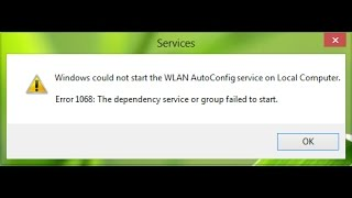 windows 10 network dependency service group failed start