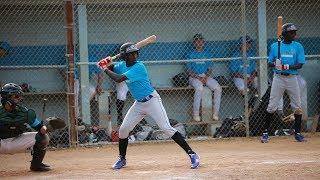 Denis Achidri (Ugandan baseball player) HIGHLIGHT REEL