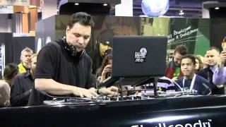 Mix Master Mike of Beastie Boys Live CES 2011 Las Vegas (1/2)