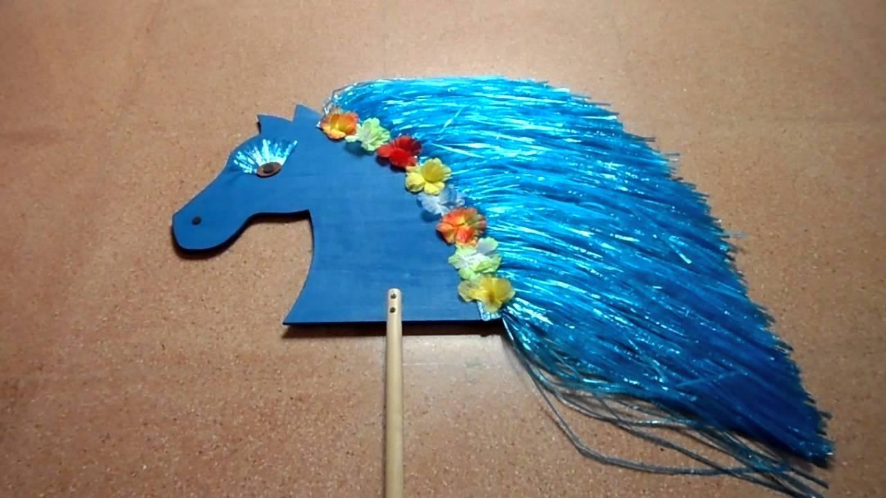 Как сделать коня на палке фото 705