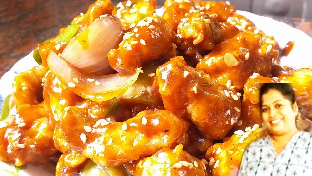 Chilli chicken dry |tasty and easy chicken recipe| kannada ...