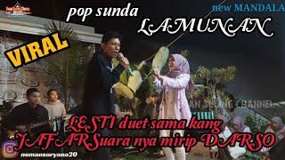 Download lagu LAMUNAN||LESTI NYANYI LAGU SUNDA ENAKEUN DUET SAMA KEMBARAN DARSO