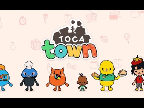 Toca Life: Town Part 2 - Best iPad demo for kids - Ellie