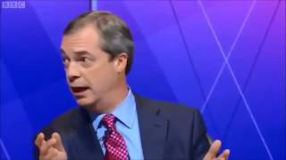Nigel Farage about Bulgaria and Romania