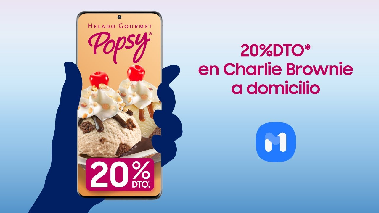 Samsung   Samsung Members   Popsy 20% descuento Charile Brownie