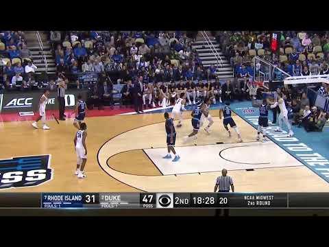 Duke's Marvin Bagley Drops 22PTS with 9REBS vs. Rhode Island