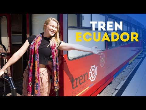 Tren Ecuador | A Train Journey From The Andes To The Pacific