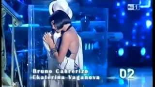 Ballando con te, Ekaterina Vaganova e Bruno Cabrerizo Tango nuevo