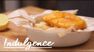 An English Chef Shows Us How to Fry Proper Fish and Chips