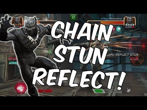 Black Panther: Civil War Mirror Match - Chain Stun Reflect Interaction - Marvel Contest Of Champions