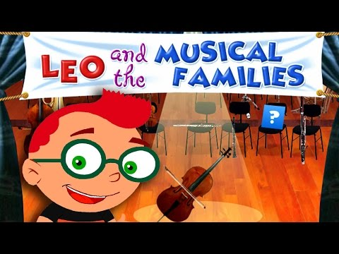 ★ Disney Little Einsteins Leo and the Musical Families (Educational Musical Game)