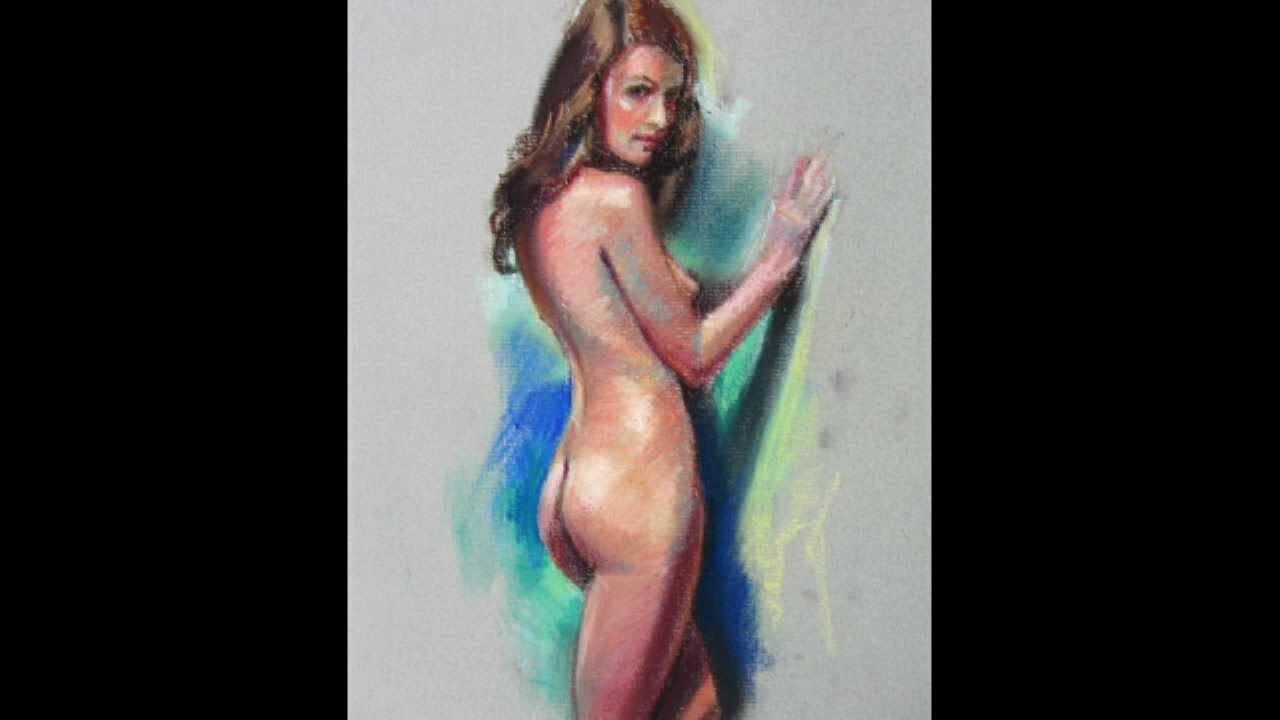 Desnudo desnudo femenino arte