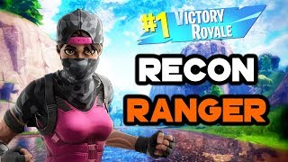 The *RECON RANGER* Skin Made Me A Pro! (Fortnite Battle Royale)