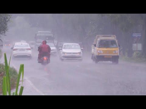 സംസ്ഥാനത്ത് മഴ അതിതീവ്രമായി; ഒന്പത് ഇടങ്ങളിൽ ജാഗ്രത | Kerala rain