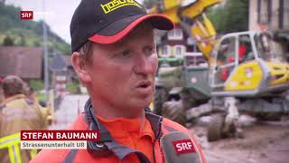 TV Menzi Muck A91 in SRF Aktuell 0619