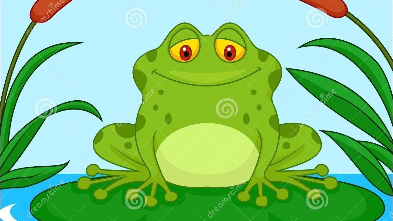 Monster Frog Pond - Cartoon Book Entertainment For Kids ...