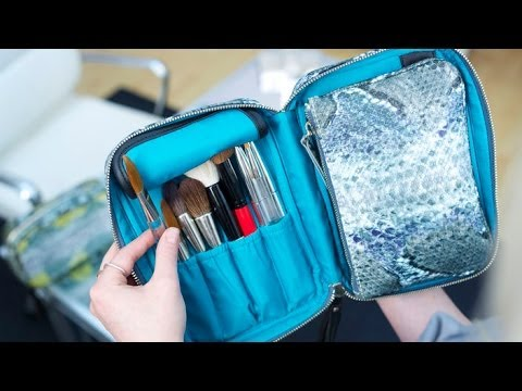 The All-in-one Makeup & Brush Bag