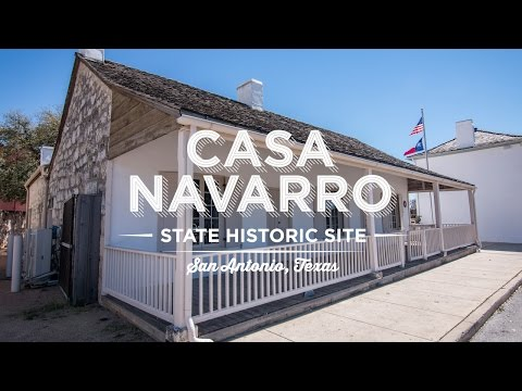 Casa Navarro Designated a National Historic Landmark