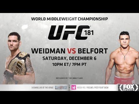 UFC 187: Weidman vs Belfort Promo