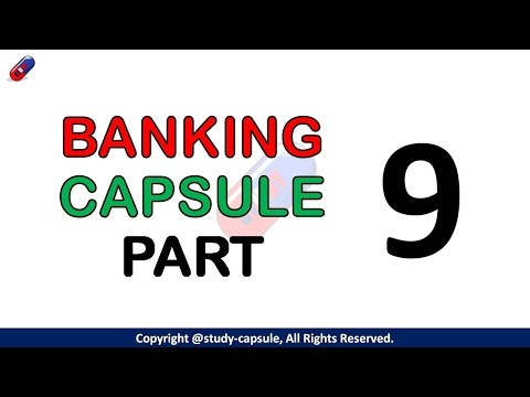Banking Capsule (Part 9), Must Watch! - Study Capsule