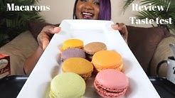 FIRST TIME TRYING MACARONS ,  REVIEW / TASTE TEST