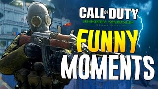 COD MWR Funny Moments - Flashbang Killcam, Exzd's Sister, Titanic (Modern Warfare Remastered)