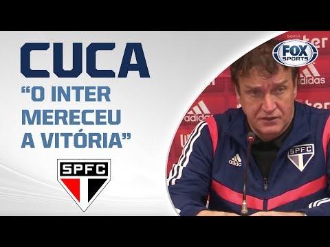 PÓS-JOGO: INTERNACIONAL 1X0 SÃO PAULO - Tricolor perde no Sul. Veja entrevista de Cuca