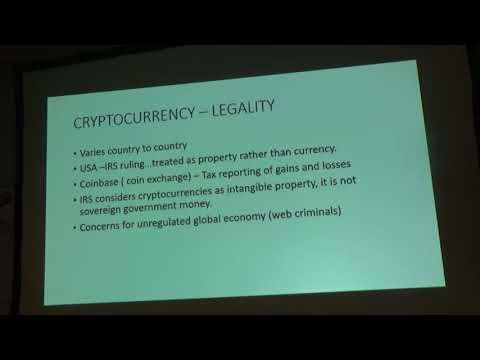 Cryptocurrency by Joe Gorman - Wilmington Coin Club - 2/27 - Numismatics with Kenny