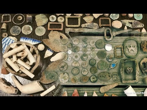 Incredible Colonial Treasure Found Metal Detecting! This May Leave You Speechless.