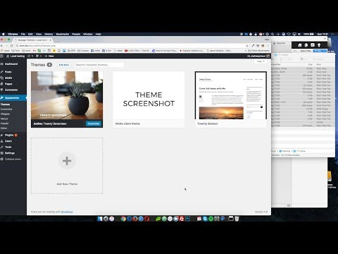 WordPress - Create a theme from scratch | Tutorial Tuesday #1 - YouTube