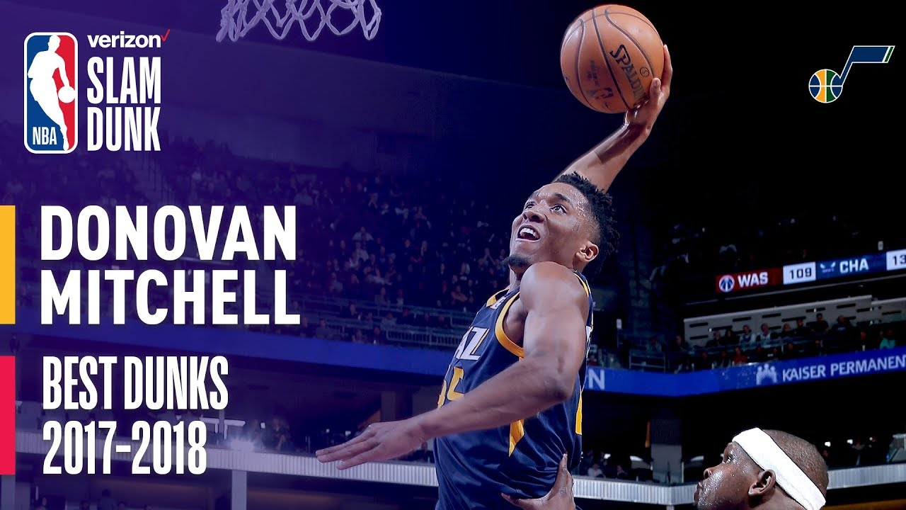 fc505fc9fc8 When it comes to dunking, the Jazz's Donovan Mitchell might just be the  perfect machine - The Salt Lake Tribune