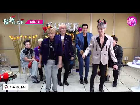 SUJU dancing to EXO|TWICE|BLACKPINK and more