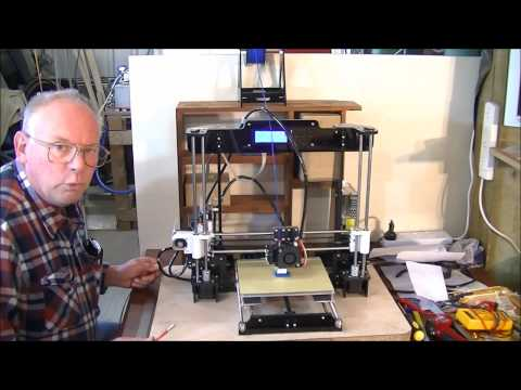 165  Setup and test drive Anet A8 3D printer