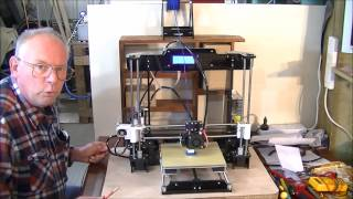 165  Setup and test drive Anet A8 3D printer
