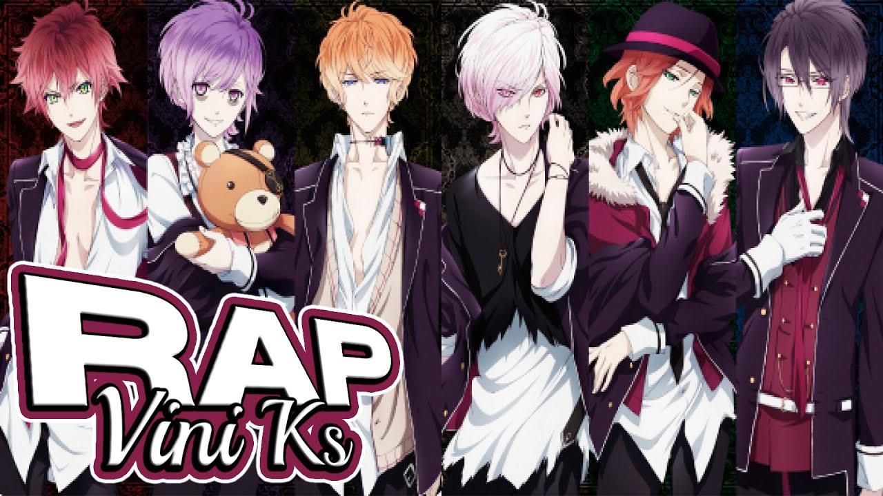 RAP | Sakamakis (Diabolik Lovers) | VINI KS (Prod. Dansonn Beats)