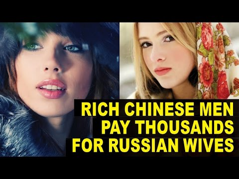 RICH Chinese Bachelors Tour Russia To Find BRIDES