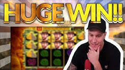HUGE WIN! Temple of Secrets Big win - Casino games from Casinodaddy live stream