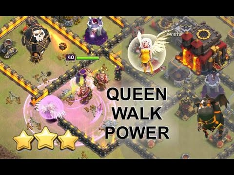 TH10 Queen Walk LaLoon - Consistent 3-Stars