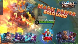 Hero Mage tercepat solo kill lord