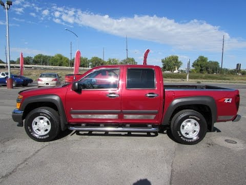 2006 chevy colorado 4x4 crew cab lt z71 doovi. Black Bedroom Furniture Sets. Home Design Ideas