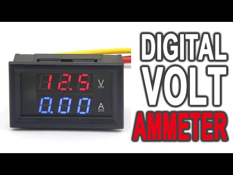 DROK® Accurate Voltmeter Ammeter DC4.5-30V review