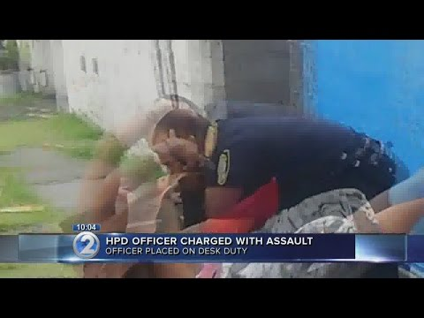Honolulu police officer charged with assault, incident caught on camera
