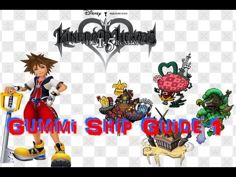 Trophy Guide: Kingdom Hearts Final Mix (Gummi Ship Guide 1)