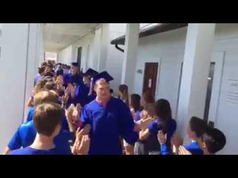 Seacoast Collegiate HS Graduation Walk Though at Seaside Neighborhood School
