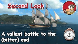 Naval Action Gameplay - Second Look and desparate battle - Dec 2018
