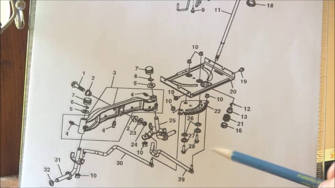 hight resolution of john deere l130 replacing the steering sector plate gear and bushings