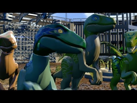 Get To Know Your Plastic Dinos In The Latest 'LEGO Jurassic World' Trailer