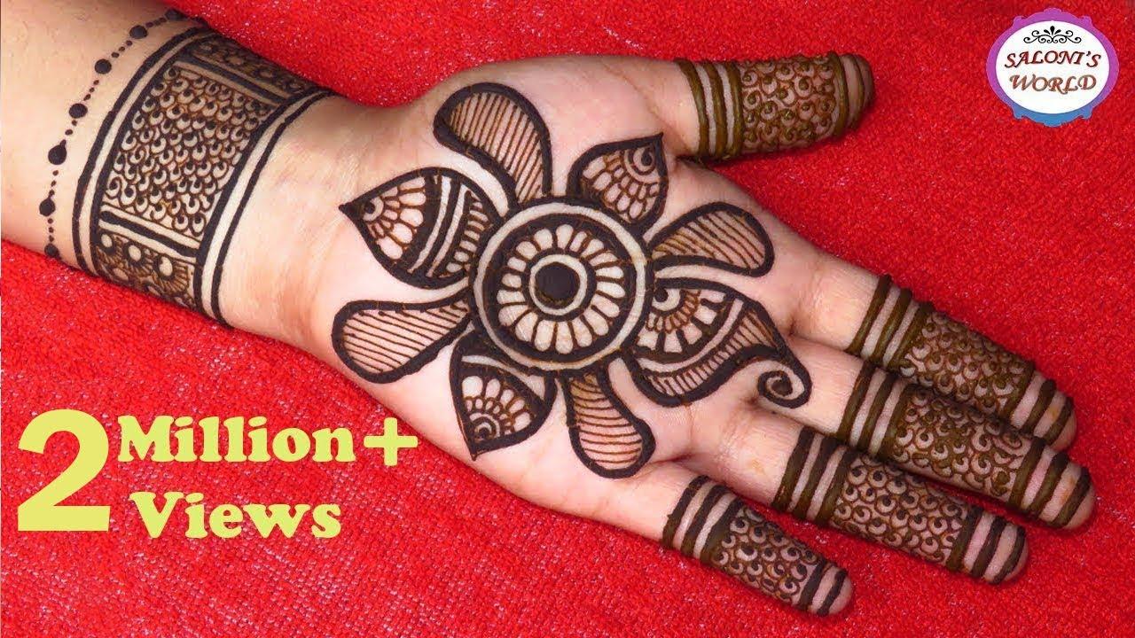 Stylish 3D Mehndi Designs | Easy Gol Tikki Mehandi | Arabic Henna by Jyoti Sachdeva #1